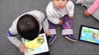 Cromo: niños y dispositivos móviles
