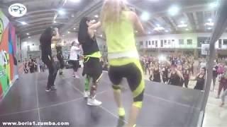 Mau y Ricky, Karol G - Mi Mala ZUMBA fitness by Boris Panayotov
