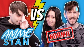 How Much Do Normies Know About Anime? (Stan vs Normies)