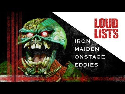 10 Greatest Iron Maiden Onstage Eddies