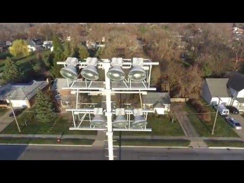 Phantom 3 Fly Over Fitzgerald High School