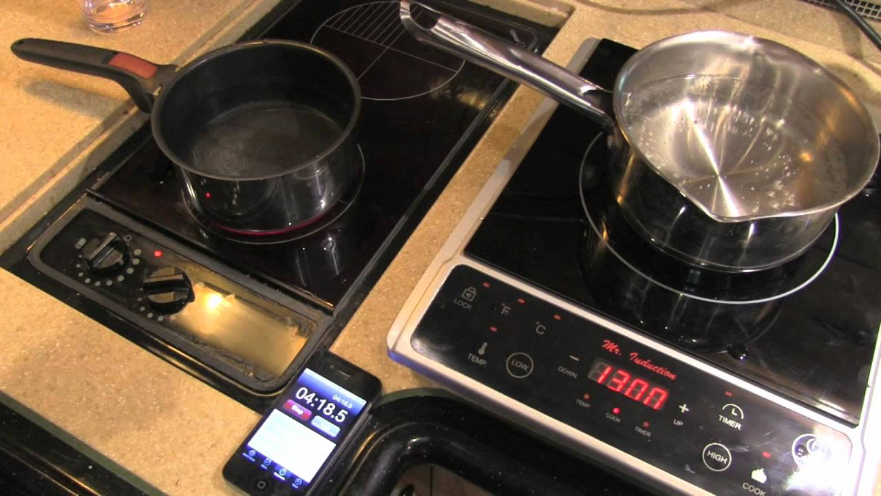 Standard Vs Induction Cooktops   YouTube