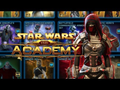 How To Unlock Items Across Your Entire Account With Collections In SWTOR