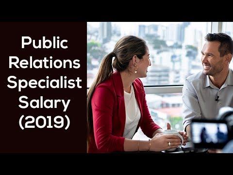 Public Relations Specialist Salary (2019) - Top 5 Cities