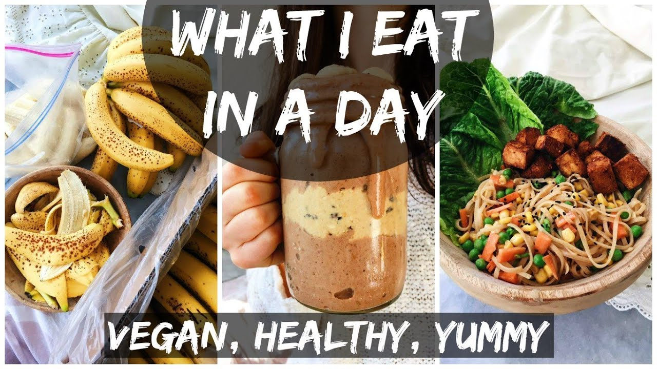 What I Eat in A Day (13) ||  College Life + At Home Workout