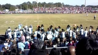 Ribault Highschool Band 2013 (Raines Game)