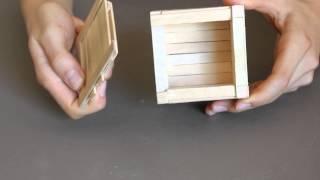 Child Proof Popsicle Stick Puzzle Box