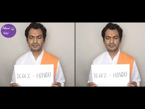 Nawazuddin Siddiqui Got his DNA Test Done & Found 16.6% Hindu?