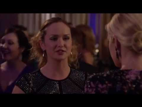 Gossip girl 6x06 Ivy/Lily - Ivy - ''Careful Lily You paid a lot of money to fill those worry lines''