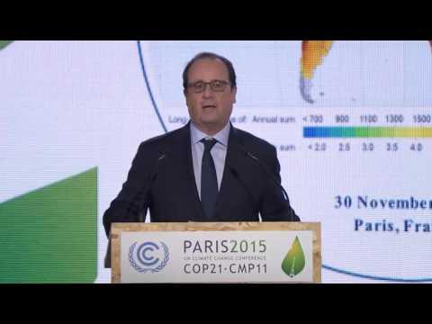 Launch of International Solar Alliance at UNFCCC Paris COP 21 - EN