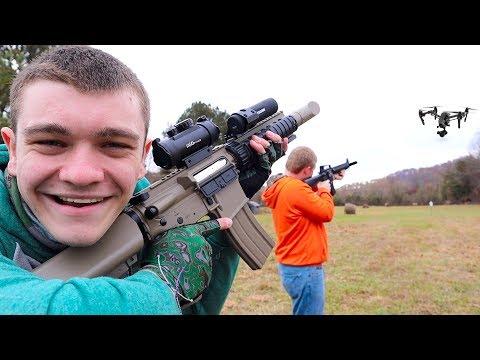Redneck Drone Hunting!