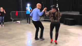 Dominican Bachata with Troy Anthony and Ivis Torres at KOB 2013