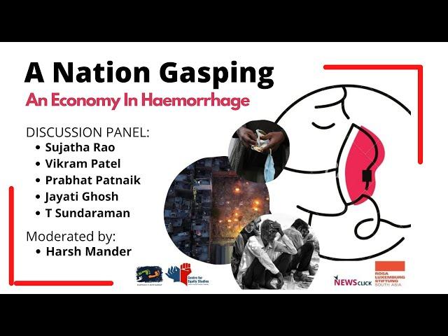 #Webinar - A Nation Gasping, An Economy In Haemorrhage | Karwan e Mohabbat