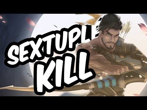 Best Sextuple Kills/Hexakills - Overwatch Moments (Overwatch Highlights)