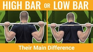 High-Bar Vs Low-Bar Squats — They're NOT That Different