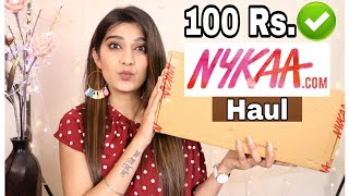 Under 100 Rs. Nykaa Haul | Starts From 28 Rs. | Affordable Makeup Products | Super Style Tips