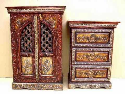 J k export vol 2 wooden antique furniture best indian for Best home decor items