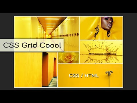 How To Create A Gallery Images With Css Grid | Super Easy