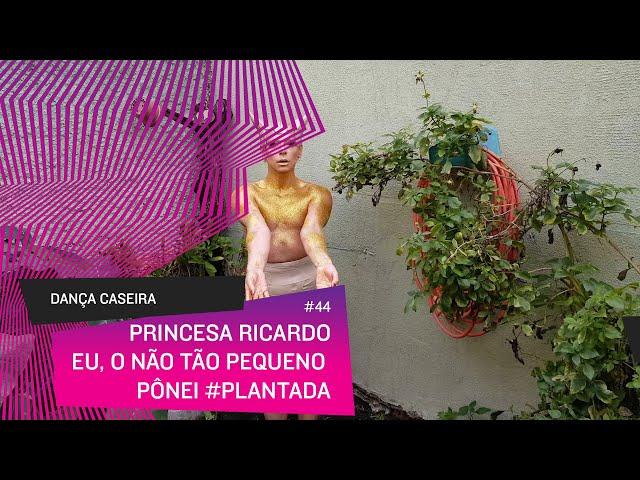 Dança Caseira: Princesa (ep 44) - eu, o nem tão pequeno pônei #plantada