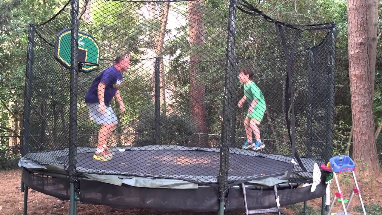 The Double Bounce Trampoline Tricks