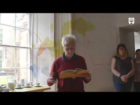"Gabriel Josipovici reading ""Holding and Grasping"" at the ""Taking Ideas for a Walk"" Essay Conference"