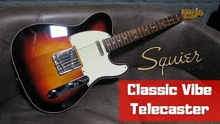 Squier by Fender Classic Vibe Telecaster Sunburst | Review Demo