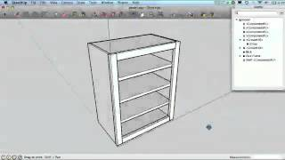 Sketchup For Woodworkers - Curves, Moulding And The Outliner