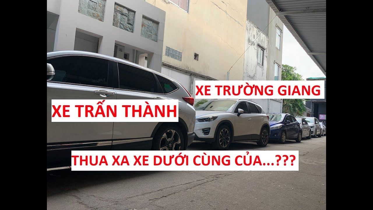 """""""Siêu xe"""" của Trấn Thành, Trường Giang thua xe của nhân vật cuối cùng!!!"""