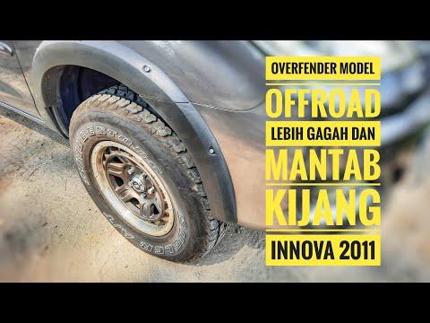 Pasang Overfender Kijang Innova 2011 : Vlog Innova Menolak Tua #20