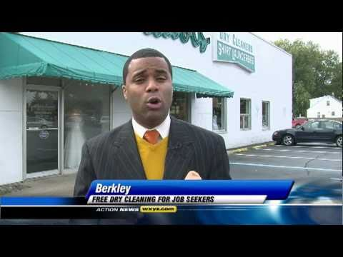 Free Dry Cleaning for Job Seekers