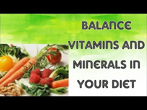 how to take balance amounts of Vitamins and Minerals.Balance diet(Urdu,hindi)