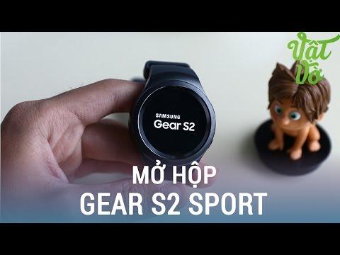 Vật Vờ| Mở hộp & đánh giá nhanh Samsung Gear S2 Sport chính hãng