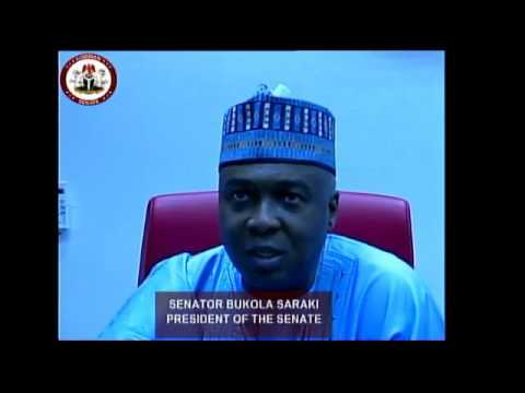 Interview with Sen. Bukola Saraki - President of The Senate