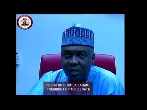 Interview with Sen. Bukola Saraki - President of The Senate