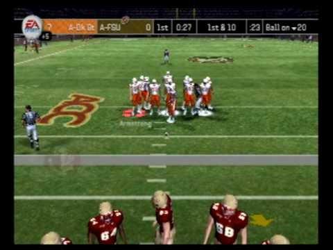 A-FSU vs A-OSU NCAA 2007 1st Half