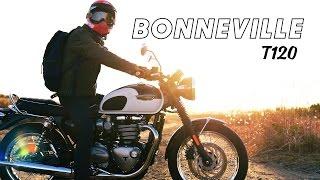 Triumph Bonneville T120 - BELL MOTO3被ってトライアンフ ボンネビルT120でツーリング!ショートムービー