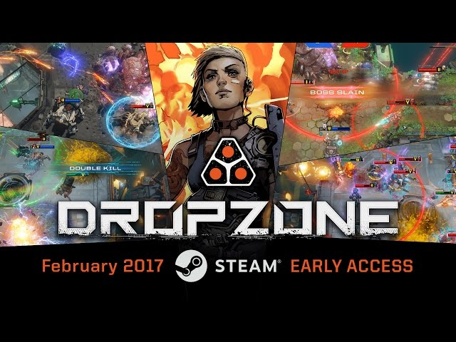 Dropzone – Arriving FEBRUARY 2017 on Steam!