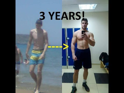 From TALL Skinny to MACHINE | Natural Body Transformation (17-20)