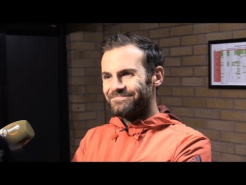 Manchester United 1-0 Zorya Luhansk - Juan Mata Post Match Interview - Pleased By Patient Win