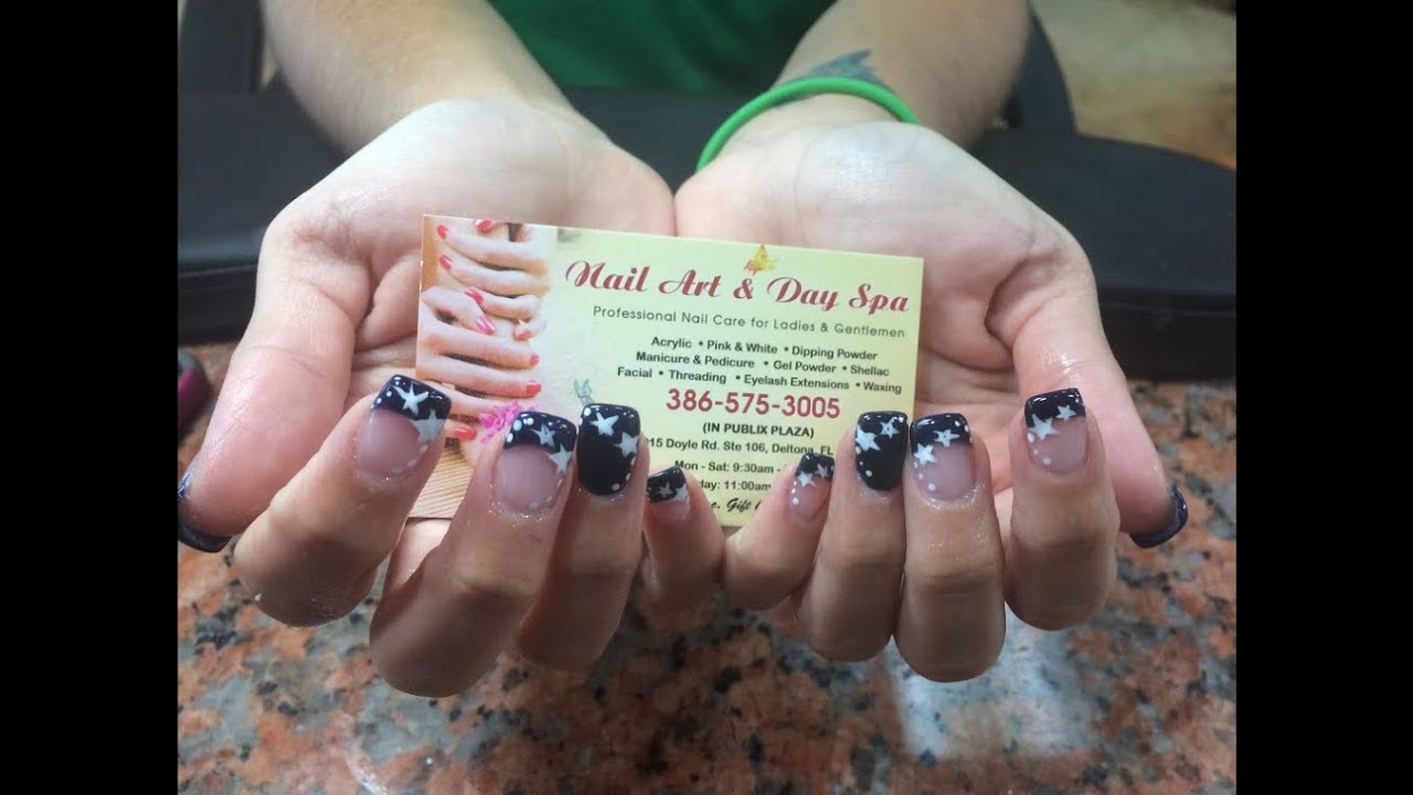 Nail Art Day Spa Deltona Fl 32725 Youtube