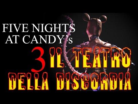 Creepypasta - Il Teatro Della Discordia (five nights at candy's 3) [ITA]