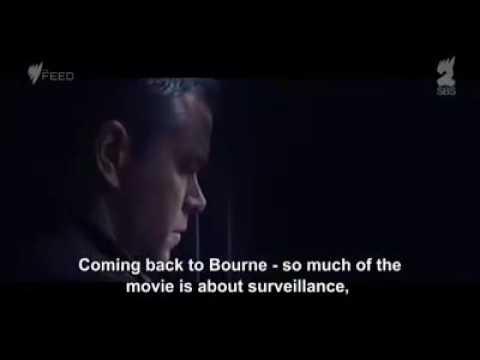Matt Damon on Surveillance and the Post-Snowden World