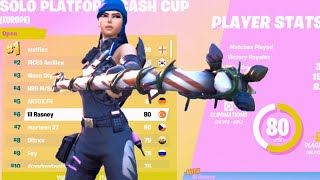 HOW I PLACED 6TH IN THE SOLO CASH CUP (80P)