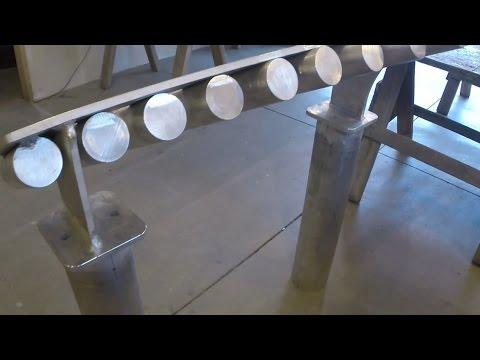 Aluminum xylophone build part 2: Tuning