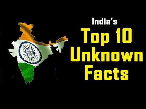 Top 10 Unknown Facts of India Incredible India