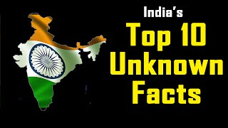 Top 10 unknown facts of india (incredible india)