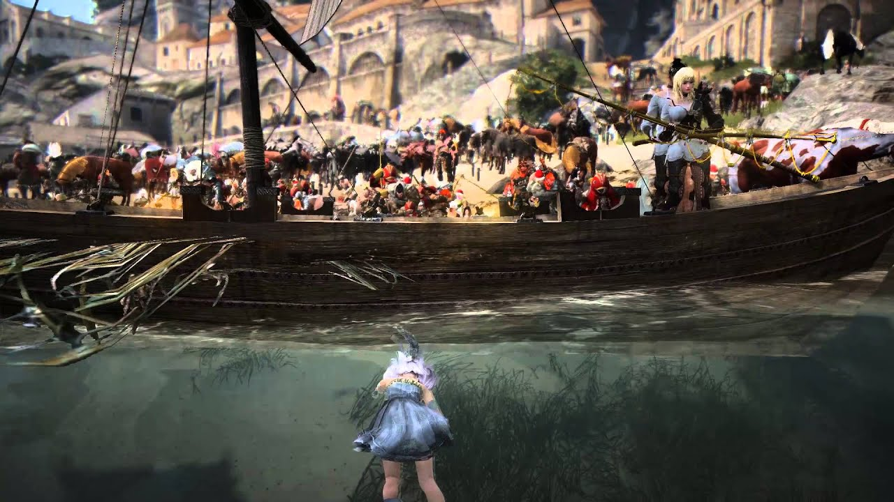 Black desert online epheria port fishing heaven youtube for Port a fishing