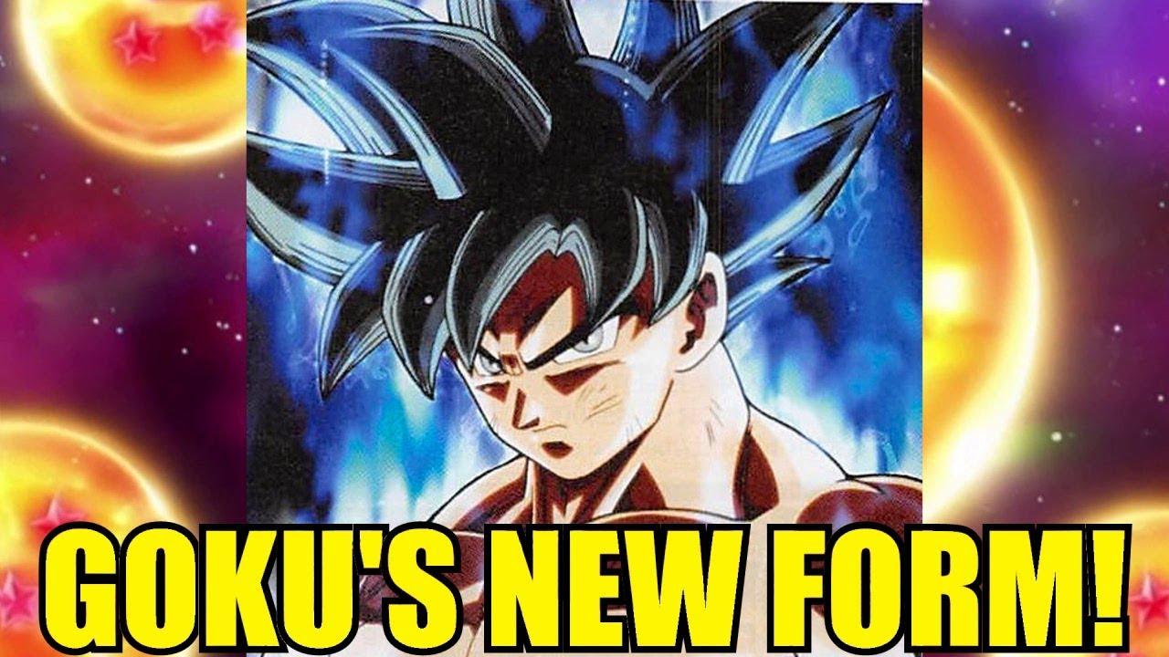 Goku's New Silver Eyed Transformation! New Super Saiyan Form or ...