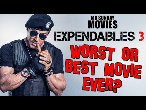 THE EXPENDABLES 3 Review - Worst Or Best Movie Ever?