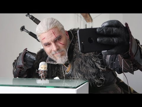 Maul Cosplay x Good Smile Company - Geralt & Nendoroid Geralt